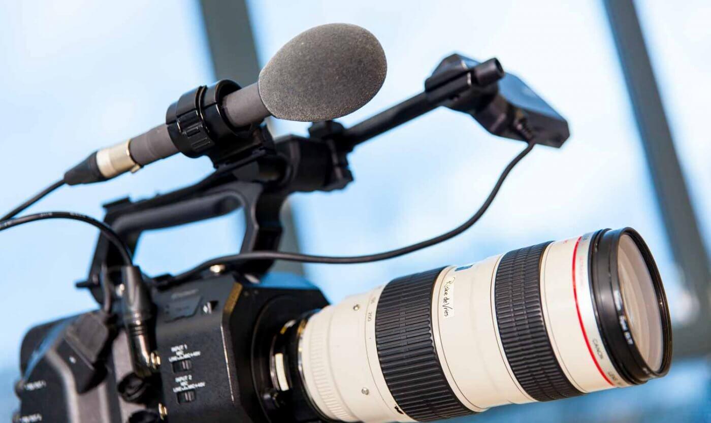 microfoon op camera